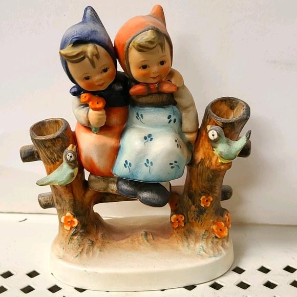 Vintage Hummel figurine by Goebel 179, 2girls